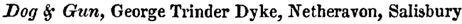 Kelly's Directory of Wiltshire, 1867, page 233; trades directory; publicans; http://specialcollections.le.ac.uk/cdm/ref/collection/p16445coll4/id/339947.