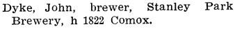 Henderson's BC Gazetteer and Directory, 1904, page 702.