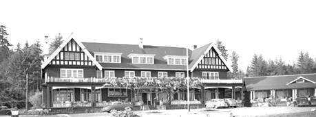 Qualicum Beach Hotel, 1948, Vancouver City Archives, CVA 586-4328; http://searcharchives.vancouver.ca/qualicum-beach-hotel.