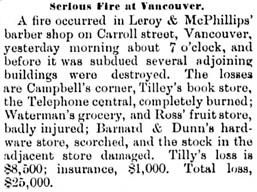 Victoria Daily Colonist, February 10, 1889, page 4, column 2; http://archive.org/stream/dailycolonist18890210uvic/18890210#page/n3/mode/1up.