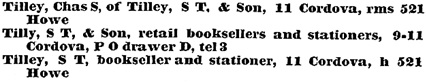 Williams' Illustrated Official BC Directory, 1892, Part 1, page 792.