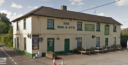 The Dog and Gun, Netheravon, Wiltshire; Google Streets: Searched April 18, 2017; image dated June 2015.
