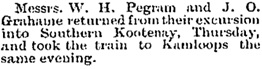 Kootenay Mail (Revelstoke, British Columbia), June 22, 1895, page 4; https://open.library.ubc.ca/collections/bcnewspapers/xkootmail/items/1.0181700#p3z1r0f:pegram.