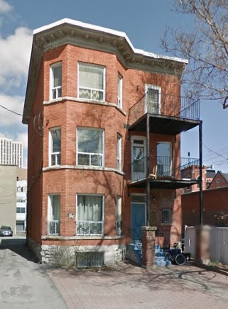 201 MacLaren Street, Ottawa, Ontario; Google Streets: searched May 23, 2017; image dated April 2012.