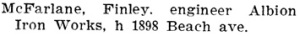 Henderson's BC Gazetteer and Directory, 1903, page 740.