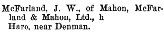 Henderson's BC Gazetteer and Directory, 1899-1900, page 718.