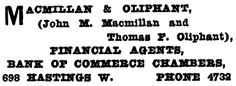 Henderson's Greater Vancouver Directory, 1911, Part 1, page 904.