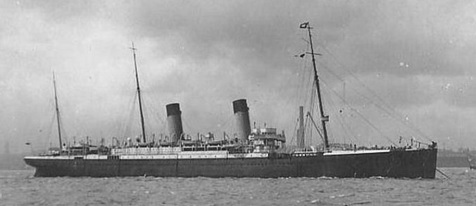 Teutonic, White Star Line; http://www.titanicinquiry.org/ships/teutonic.php.
