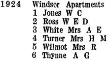 1924 Barclay Street, Wrigley's British Columbia Directory, 1927, page 416.