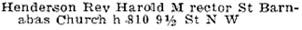 Henderson's Calgary directory, 1924, page 406; http://peel.library.ualberta.ca/bibliography/2961.19/406.html