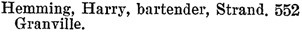 Henderson's BC Gazetteer and Directory, 1901, page 694.
