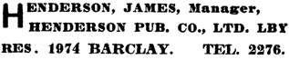 Henderson's City of Vancouver Directory, 1906, page 383.