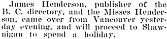 Victoria Daily Colonist, August 25, 1904, page 7, column 2; http://archive.org/stream/dailycolonist19040825uvic/19040825#page/n6/mode/1up.