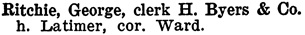 Henderson's BC Gazetteer and Directory, 1904, page 422 (Nelson).