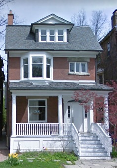 14 Binscarth Road, Toronto, Ontario; Google Streets, searched August 3, 2017; image dated: May 2009.