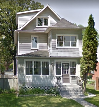 549 Jubilee Avenue, Winnipeg, Manitoba; Google Streets, searched August 8, 2017; image dated June 2015.