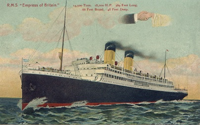 R.M.S. Empress of Britain; CafeParisien, http://cafeparisien.com/gallery2/main.php?g2_itemId=372.
