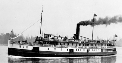 "S.S. ""Bowena"" , about 1915, Vancouver City Archives, Bo P269; http://searcharchives.vancouver.ca/s-s-bowena-passing-through-first-narrows."