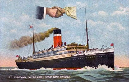 Virginian, Allan Line; Titanic Inquiry Project; http://www.titanicinquiry.org/ships/virginian.php.