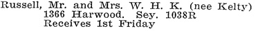 Vancouver Social Register and Club Directory, 1914, page 59.