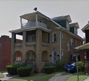 1117 Euclid Place, Huntington, West Virginia; Google Streets: searched September 23, 2017; image dated September 2011.