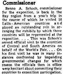 Oakland Tribune (Oakland, California), January 5, 1939, page 17, column 1 [portion of article].