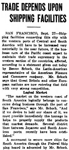 The Huntington Press (Huntington, Indiana), September 27, 1919, page 24, column 3.