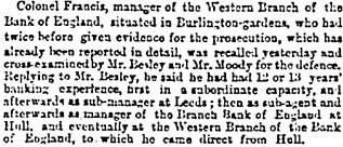 The Times, London, England, June 6, 1873, page 11, column 4.
