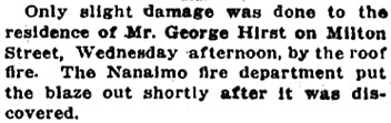 Nanaimo news, Victoria Daily Colonist, May 4, 1917, page 4, column 6; http://archive.org/stream/dailycolonist59y125uvic#page/n3/mode/1up.