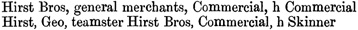 Williams' Illustrated Official BC Directory, 1892, Part 1, page 153 (Nanaimo).