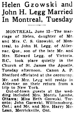 The Winnipeg Tribune, June 13, 1934, page 8, column 5.