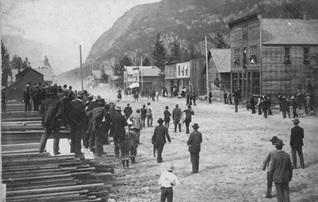 Horse Race, Slocan City, 1896, Slocan City History, http://www.slocancity.com/history/.