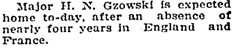 Social Events, Toronto Globe, December 27, 1918, page 5, column 2.