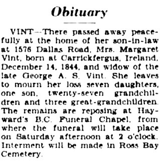 Victoria Daily Colonist, September 13, 1929, page 5, column 4; http://archive.org/stream/dailycolonist929uvic_12#page/n4/mode/1up.