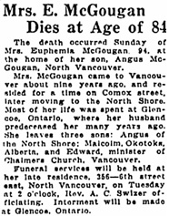 Vancouver Sun, July 9, 1928, page 4, column 3; https://news.google.com/newspapers?id=GCxlAAAAIBAJ&sjid=s4gNAAAAIBAJ&pg=3689%2C723896.
