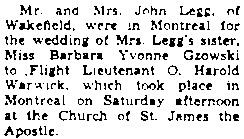 The Ottawa Journal, January 12, 1942, page 10, column 3.