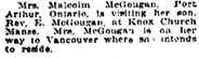 Social Side of City Life, Edmonton Bulletin, April 4, 1919, page 4, column 1; http://peel.library.ualberta.ca/newspapers/EDB/1919/04/04/4/.