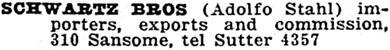 San Francisco, California, City Directory, 1919, page 1465.