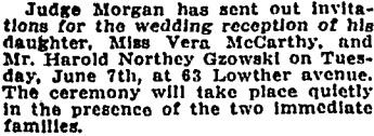 Toronto Globe, May 27, 1910, page 8.