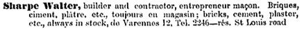 Quebec City Directory 1901-1902, page 638.
