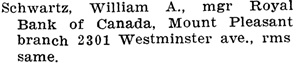 Henderson's City of Vancouver Directory, 1907, page 735.