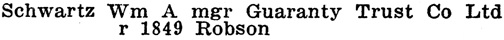 Henderson's Greater Vancouver City Directory, 1913, Part 2, page 1268 [edited image].