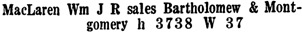 Wrigley's British Columbia Directory, 1927, page 1113 [edited image].