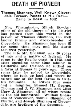 Victoria Daily Colonist, March 20, 1909, page 3, column 4; http://archive.org/stream/dailycolonist19090320uvic/19090320#page/n2/mode/1up.