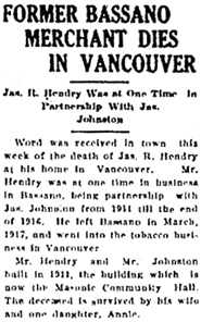 Bassano Mail, May 2, 1929, Page 1, Item Ar00121; http://peel.library.ualberta.ca/newspapers/BSM/1929/05/02/1/Ar00121.html.