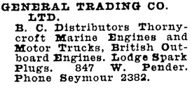 Wrigley's BC Directory, 1929, page 917.