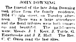 Vancouver Daily World, June 6, 1906, page 16, column 2.