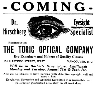 The Chilliwack Progress, August 20, 1914, page 2, columns 5-6.