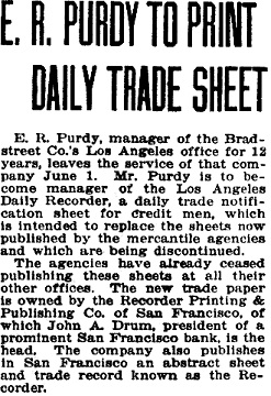 Los Angeles Herald, Number 174, May 22, 1920, page A7; https://cdnc.ucr.edu/cgi-bin/cdnc?a=d&d=LAH19200522.2.346&e=-------en--20--1--txt-txIN-%22e+r+purdy%22-------1.
