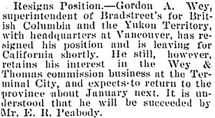 Victoria Daily Colonist, August 9, 1905, page 5, column 5; http://archive.org/stream/dailycolonist19050809uvic/19050809#page/n4/mode/1up.